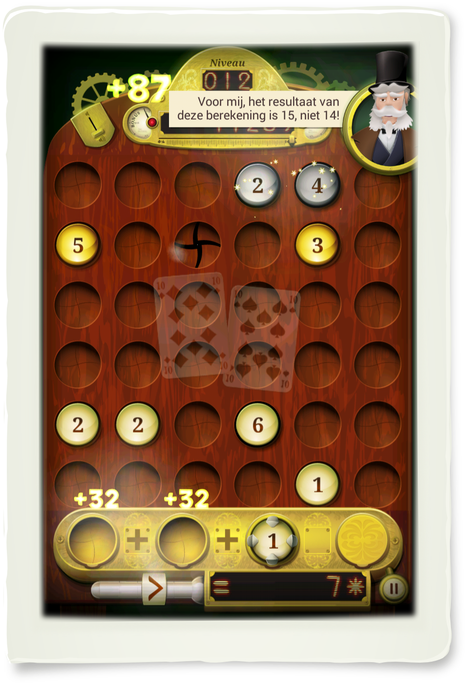 The Numbers Machine : De mentale wiskunde spel