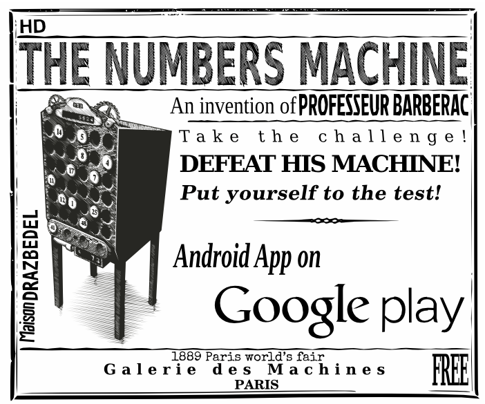 The mental math game The Numbers Machine Free