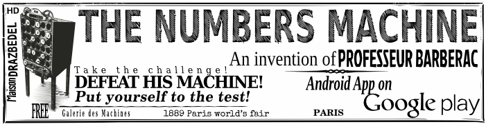 The Numbers Machine The mental math game Free