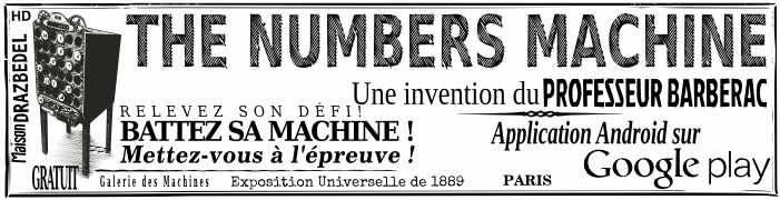 The Numbers Machine Le jeu de calcul mental Gratuit