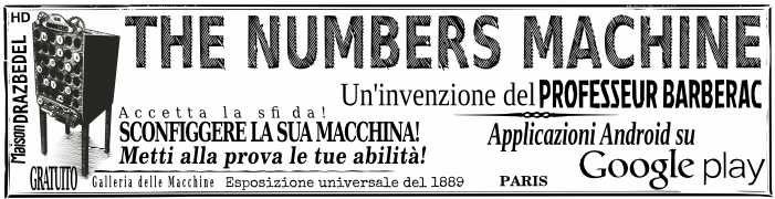 The Numbers Machine Il gioco di matematica mentale Libero